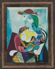 Pablo Picasso Limited Edition Portrait of Marie Walter Therese