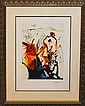 Salvador Dali Diamond Head Limited Edition hand signed Lithograph