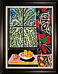 Henri Matisse- Limited Ed Giclee The Egyptian Curtain