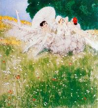 After Louis Icart Limited Edition Giclee Summer Dreams