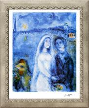 Marc Chagall-Limited Edition Newlyweds