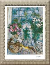 Marc Chagall-Limited Edition -The White Window