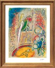 Marc Chagall-Limited Edition Lithograph-Circus IV