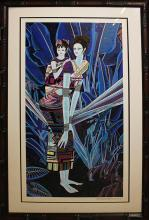 Ting Shao Kwan- Limited Edition Serigraph Mothers Love