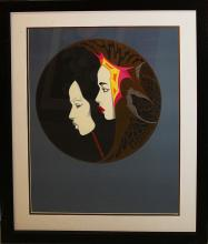 Limited Edition Serigraph Erte