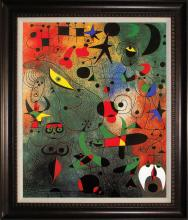 After Joan Miro Limited Edition Constellations