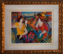 Patricia Limited Edition Serigraph Savory Gossip