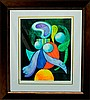 Pablo Picasso Woman and Flower Limited Edition