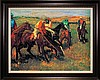 Edgar Degas-Limited Edition Giclee-Avant La Course