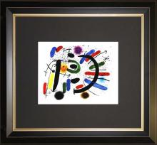Abstract Composition Joan Miro Lithograph
