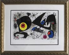 Joan Miro-Limited Edition Lithograph
