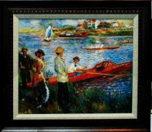 Pierre Renoir- Limited Edition-Oarsmen Boating