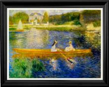 Pierre Renoir-The Skiff