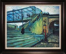 Vincent Van Gogh Ltd Edition The Trinquetaille Bridge