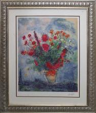 ***CHAGALL**AMAZING**|**|** -Bouquet Over City