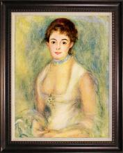 Pierre Renoir-Limited Edition-Portrait Of Marie Henriot