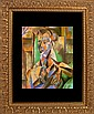 Pablo Picasso-Limited Edition Lithograph-Seated Woman