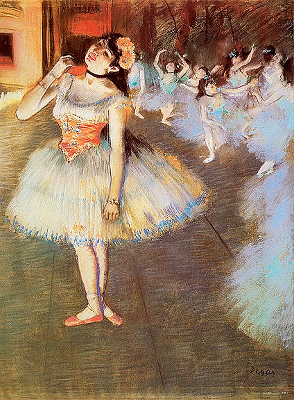 Edgar Degas-Limited Edition Giclee Lithograph-Star