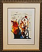Salvador Dali Diamond Head Limited Edition Lithograph