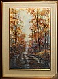 Michael Schofield Original Watercolor Autumn Light