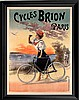 Cyclist French Poster