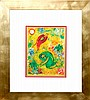 Trampled Flowers Marc Chagall Hand Signed Lithograph