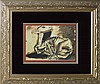 Pablo Picasso Lithograph Hand Signed The Lamb