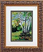 Lara-Original Oil Hand Signed -Aspen Meadow