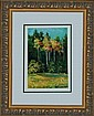 Lara-Original Oil Hand Signed -Golden Trees
