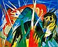 Franz Marc-Animaux Fabuleux-Limited Edition