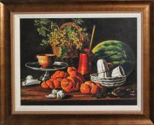 Luis Melendez-Limited Edition- Still Life with Melon