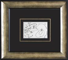 Peter Max Original Drawing Hand signed