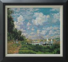 Claude Monet Limited Edition The Marina at Argenteuil.