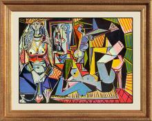 Pablo Picasso- Women of Algiers Limited Edition