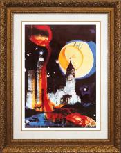 Salvador Dali-Limited Edition Lithograph-Manhattan