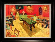 Van Gogh Limited Edition Embellished Giclee Rec Room