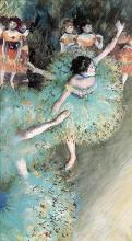 Edgar Degas- Arabesque