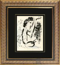 Mark Chagall Lithograph Hand signed by the artist