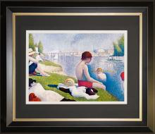 Bathers at Asnieres by George Seurat Limited Edition