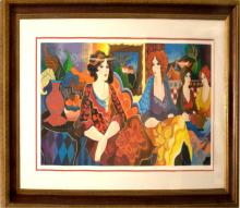 Maimon Limited Edition Serigraph Out on the Town