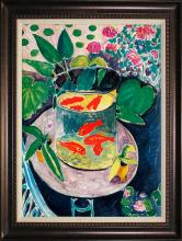 Henri Matisse-Limited Lithograph-The Goldfish
