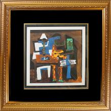 Pablo Picasso-Limited Edition -Three Musicians