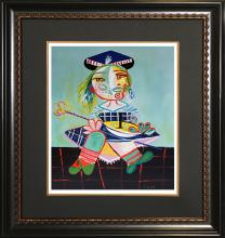 Pablo Picasso-Limited Edition Maia with Doll
