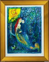 Marc Chagall-Limited Edition Lithograph-Wedding