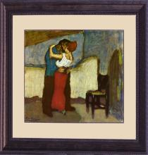 Pablo Picasso--Limited Edition Lithograph-The Embrace