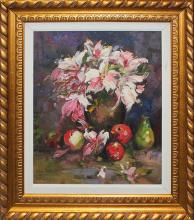Massimo- Original Oil on Canvas-Fruits of Spring