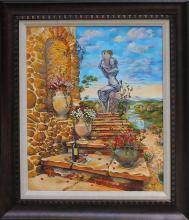 Arina Original Oil Italian Steps