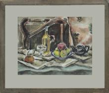 Original Watercolor Stillife by Merideth Ann Olson