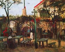 Terrace of the Cafe Vincent Van Gogh