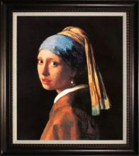 Johannes, Vermeer- Limited Ed Girl with A Pearl Earring